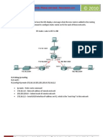 Summary Exploration 2 - Routing Protocol Commands