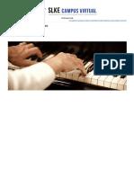 Improvisación Musical - Nivel 1 - La Armonización y Acompañamiento en La Música Tradicional (7 Créditos ECTS)