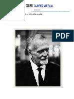 Método Kodály - Nivel 6 - Didáctica y Práctica del Canon - (5 Créditos ECTS)