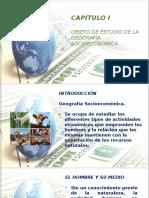 Geografía Socioeconómica