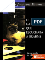El Gato Que Escuchaba a Brahms - Lilian Jackson Braun