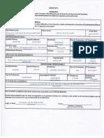 Solicitud - Certificado Sanitario