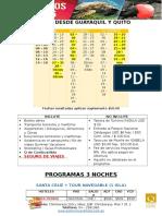 Programas Galapagos 2016 Sept-dic