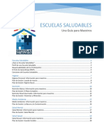 Manual de Escuelas Saludables 2016