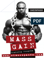 Simeon Panda Mass Gain Ebook
