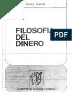 Simmel, Georg - Filosofia del Dinero.pdf
