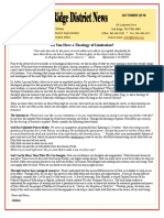 October 2016 Oak Ridge District Newsletter