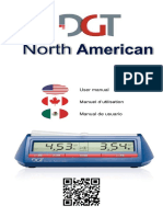 Manual for DGT North American Chess Clock