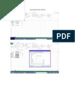 Pantallazos Excel