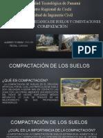 Elementos de Mecánica de Suelos y Cimentaciones COMPACTACION CLASE