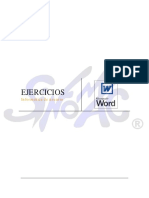 Ejercicios Word