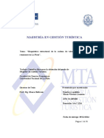 Diagnóstico Estructural de La Cadena de Valor Del Turismo de Reuniones La Plata