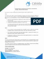 Calidda Manual de servicio al cliente