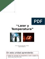Calor y temperatura 6° Básico 2015