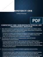 competency 1- 6