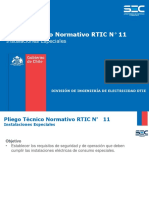 RTIC 11 Instalaciones Especiales