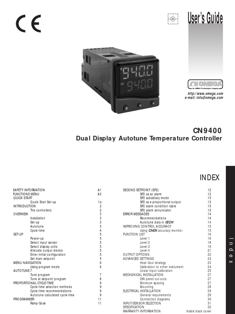 Controlador Omega | Systems Theory | Electrical Engineering