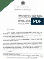 NOTA TECNICA PGR-SRI No 082 2016 PGR-00290609-2016