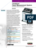 DPMS Systema de Medicion Digital de Potencia