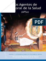 Dimesion de Pastoral de La Salud - Directrices de Pastoral de La Salud