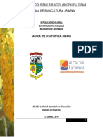 Manual de Silvicultura Urbana La Dorada