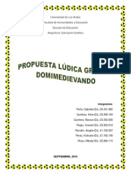 propuesta lúdica grupal