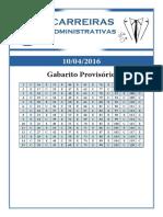 09 Gabarito Provisório Inss 10-04-2016