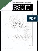 PURSUIT Newsletter No. 47, Summer 1979 - Ivan T. Sanderson