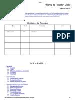 Modelo documento de visão RUP