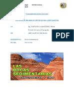 Informe de Las Rocas Sedimentarias LINO