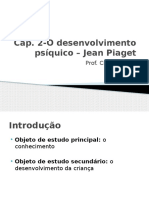 Aula 20 Fev O Desenvolvimento Psíquico – Jean Piaget
