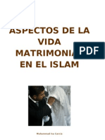 Aspectos de La Vida Matrimonial en El Islam