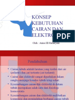 Konsep Kebutuhan Cairan Dan Elektrolit
