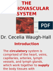 Lecture 1 Cardiovascular System