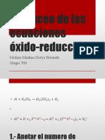 Balanceo de Las Ecuaciones Óxido-reducción