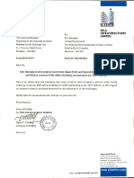 Nila Infrastructures Limited is selected to construct PMC Office Building by Adani Ports and Special Economic Zone Ltd (APSEZ) amounting Rs. 435.1 million [Company Update]