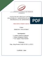 Monografia - Derecho Financiero