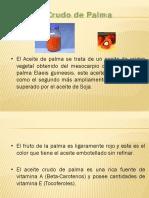 Refinacion Aceite Crudo de Palma