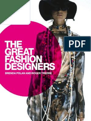Brenda Polan Roger Tredre The Great Fashion Designers Bloomsbury Academic 2009 Fashion Design