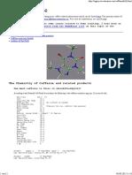 Chemistry of Caffeine