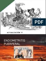 Clase Endometritis Puerperal 2015