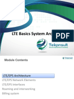 01 TK410 LTE Basics System Architecture-Walid-2016