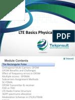02 TK410 LTE Basics Physical Layer Basics-Walid-2016