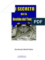 El Secreto de la Gestion del Tiempo - David Valois.pdf