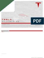 Tesla Master Plan Final Copy Summer 2016
