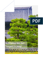 Architektur von Zen-Tempeln in Japan