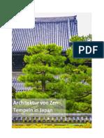 Architektur von Zen-Tempeln in Japan