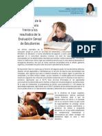 Desafios Resultados de La Evaluacion Censal de Estudiantes