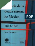 Historia de la deuda Externa de México 1823-1861