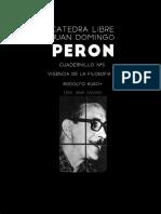 """Cuaderno Numero """"5"""" Oficial//Cátedra Juan Domingo Perón"""
